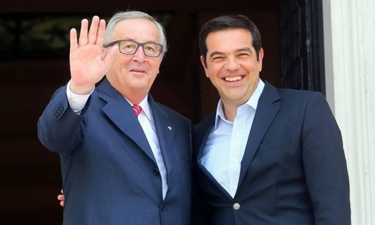 Στην Ελλάδα ο Ζαν-Κλοντ Γιούνκερ - Μπαράζ επαφών και ομιλία στη Βουλή