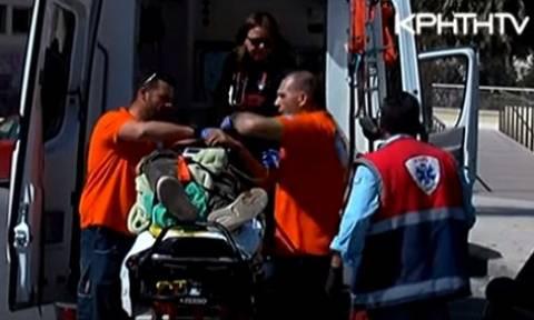 Ηράκλειο: Καρέ – καρέ ο απεγκλωβισμός μαθητή που καρφώθηκε σε κάγκελα (ΠΡΟΣΟΧΗ: ΣΚΛΗΡΟ ΒΙΝΤΕΟ)