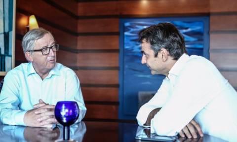 Απίστευτο παρασκήνιο: Ποιοι και γιατί δεν άφησαν τον Γιούνκερ να μιλήσει στο Ίδρυμα Καραμανλή;