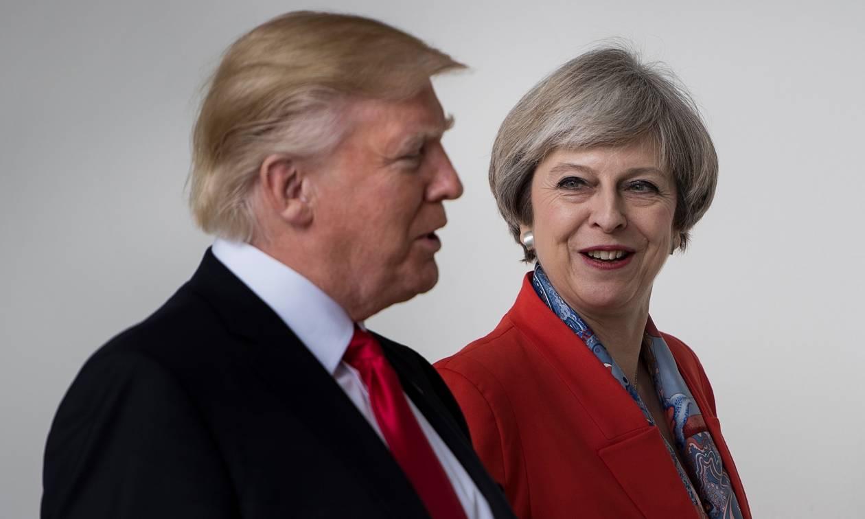 Ανακοινώθηκε η ημερομηνία της επίσκεψης Τραμπ στη Βρετανία