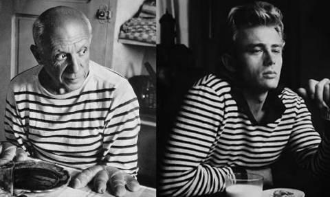 Το μπλουζάκι του Picasso και του James Dean συνεχίζουν να πουλάνε τρελά! (pic)
