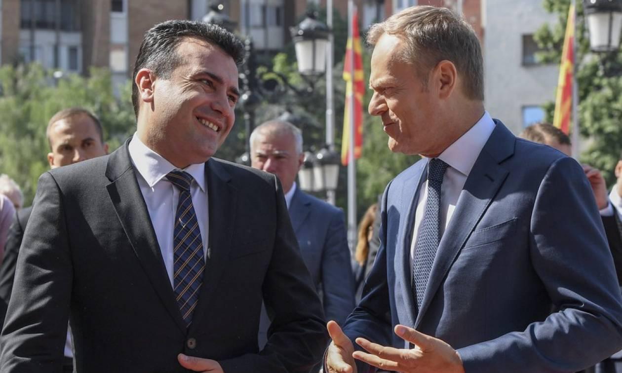 Ζάεφ για Σκοπιανό: Η επίλυση του ονοματολογικού θα ανοίξει το δρόμο για ένταξη σε ΕΕ - ΝΑΤΟ