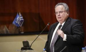 Μήνυμα Κοτζιά σε Σκόπια: Πρώτα συμφωνία για το όνομα, μετά ένταξη στο ΝΑΤΟ