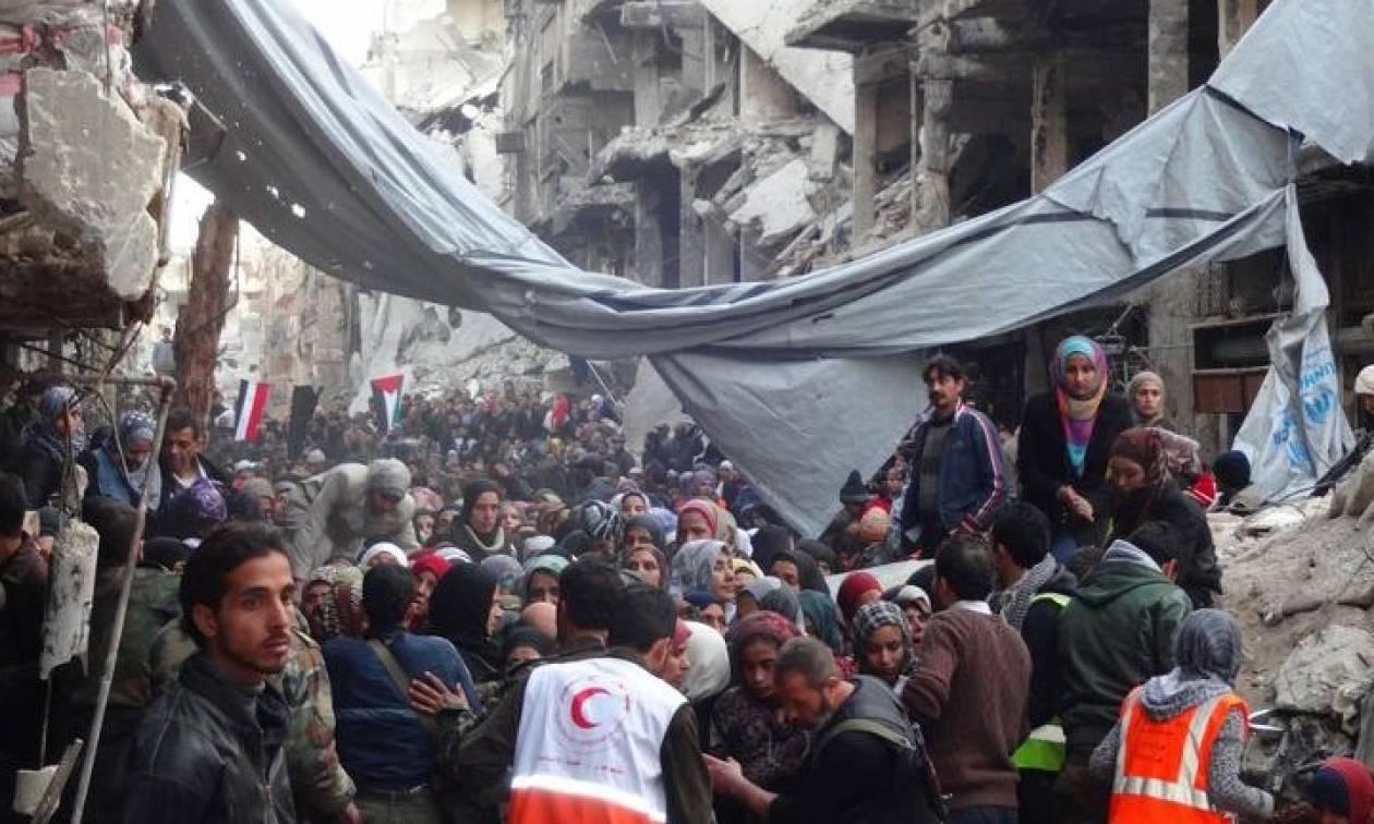 Συρία: Συμφωνία εκκένωσης στον καταυλισμό Γιαρμούκ στη νότια Δαμασκό