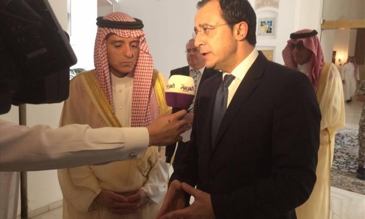 Σε διμερείς συμφωνίες και κοινές δράσεις θα προχωρήσουν Κύπρος και Σαουδική Αραβία