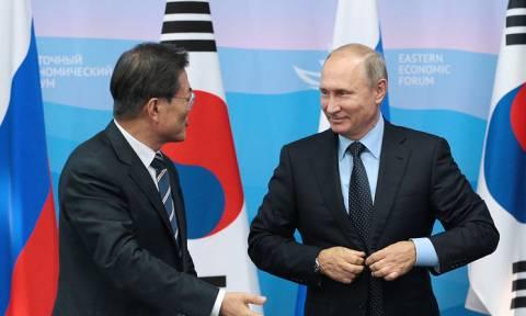 Путин и Мун Чжэ Ин позитивно оценили договоренности между Пхеньяном и Сеулом
