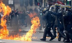 Πρωτομαγιά Γαλλία: «Ημέρα κόλασης» στο Παρίσι 50 χρόνια από την εξέγερση του Μάη του '68 (Pics)