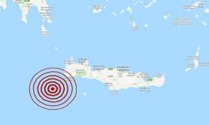 Σεισμός νοτιοδυτικά της Κρήτης (pics)