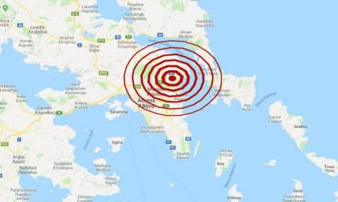 В Афинах произошло землетрясение 4,2 балла
