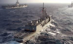 «Εμπόλεμη» ζώνη το Αιγαίο: Τουρκικά πλοία από τη Λήμνο μέχρι το Καστελλόριζο
