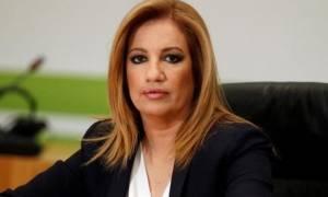Η Φώφη Γεννηματά ζητά προ ημερησίας συζήτηση στη Βουλή για το μεταμνημονιακό πρόγραμμα