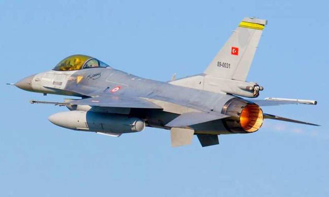 Μπαράζ παραβιάσεων από τουρκικά μαχητικά πάνω από το Αιγαίο