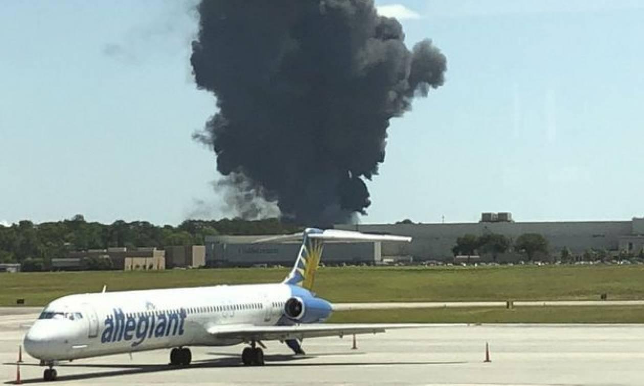 Αεροπορική τραγωδία στις ΗΠΑ: Νεκροί οι πιλότοι του C-130 που συνετρίβη στην Τζόρτζια (Pics+Vids)