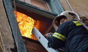 Θεσσαλονίκη: Στο νοσοκομείο βρέφος μετά από πυρκαγιά σε διαμέρισμα