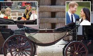 Με μια ανοικτή βασιλική άμαξα θα διασχίσουν το Ουίνδσορ ο πρίγκιπας Χάρι και η Μέγκαν Μαρκλ