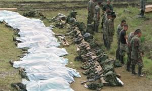 Κολομβία: 9.000 θύματα παραστρατιωτικών έχουν βρεθεί από το 2006
