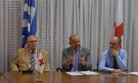 Δωρεά αξίας 770.000 ευρώ από τη Δ.Ο.Ε.Σ. προς τον Ελληνικό Ερυθρό Σταυρό (pics)