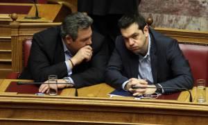 Τηλεφωνική επικοινωνία Τσίπρα – Καμμένου για το επεισόδιο στο Αιγαίο