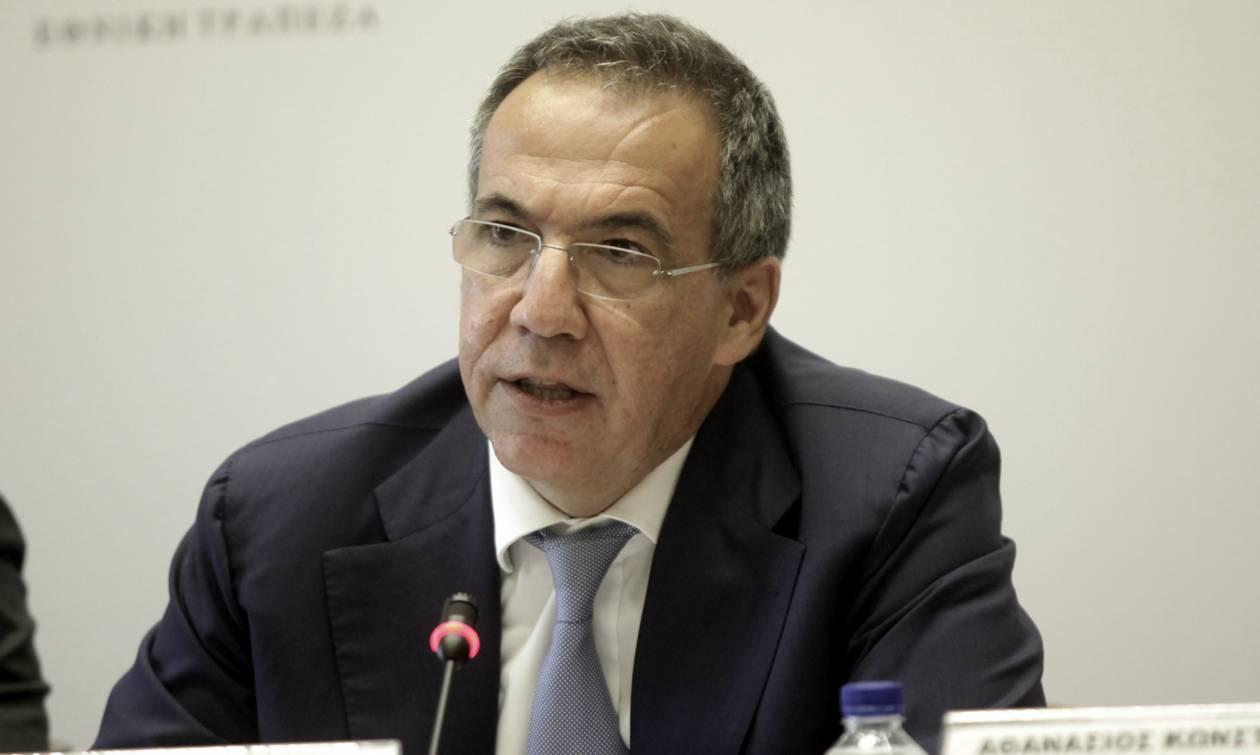 Παραιτήθηκε ο διευθύνων σύμβουλος της Εθνικής Τράπεζας Λεωνίδας Φραγκιαδάκης