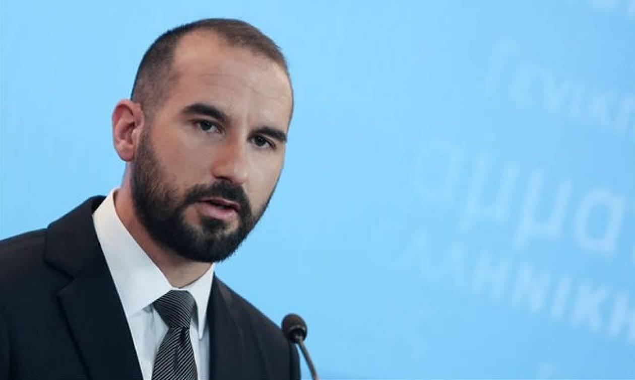 Τζανακόπουλος: Η κυβέρνηση εργάζεται για την καθαρή έξοδο από τα Μνημόνια