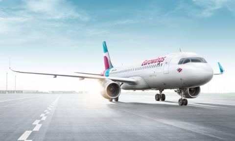 Eurowings: Εγκαινιάζει 16 νέα δρομολόγια από και προς την Ελλάδα για το φετινό καλοκαίρι