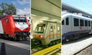 Στάση εργασίας σε Μετρό, προαστιακό και τρένα: Δείτε πότε θα μείνουν ακινητοποιημένα