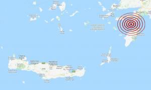 Σεισμός κοντά στη Ρόδο - Αισθητός σε αρκετές περιοχές (pics)