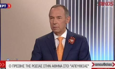 Андрей Маслов: «Греки и русские вместе празднуют День победы»