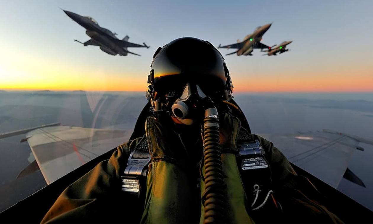 Οι Έλληνες πιλότοι ξεφτίλισαν τους Τούρκους: Τους «τσάκισαν» πάνω από το Αιγαίο (pics+vid)