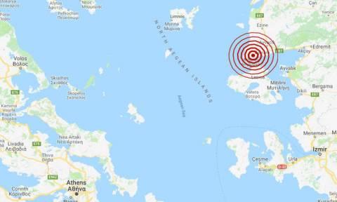 На Лесбосе произошло землетрясение