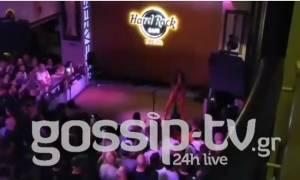 Eurovision 2018: Η Ελένη Φουρέιρα στο ξέφρενο πάρτι του wiwiblogs - Στο πλευρό της ο Μποτία