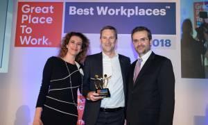 O ΟΠΑΠ ανάμεσα στις εταιρείες με το καλύτερο εργασιακό περιβάλλον στην Ελλάδα