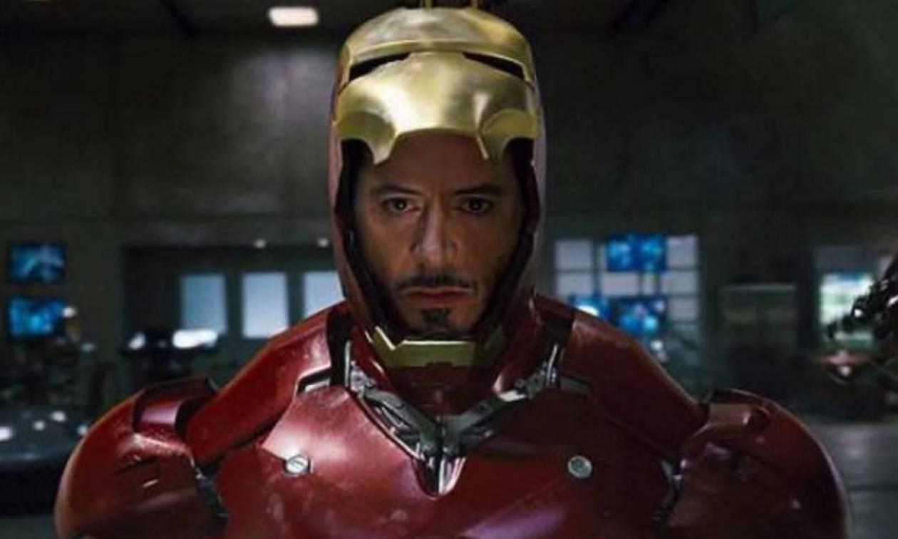 Κάποιος έκλεψε τον Iron Man και δεν είναι... σενάριο της Marvel!