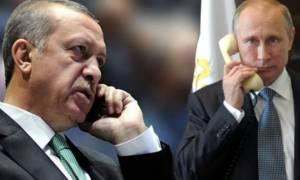 Έκτακτη τηλεφωνική επικοινωνία Πούτιν - Ερντογάν