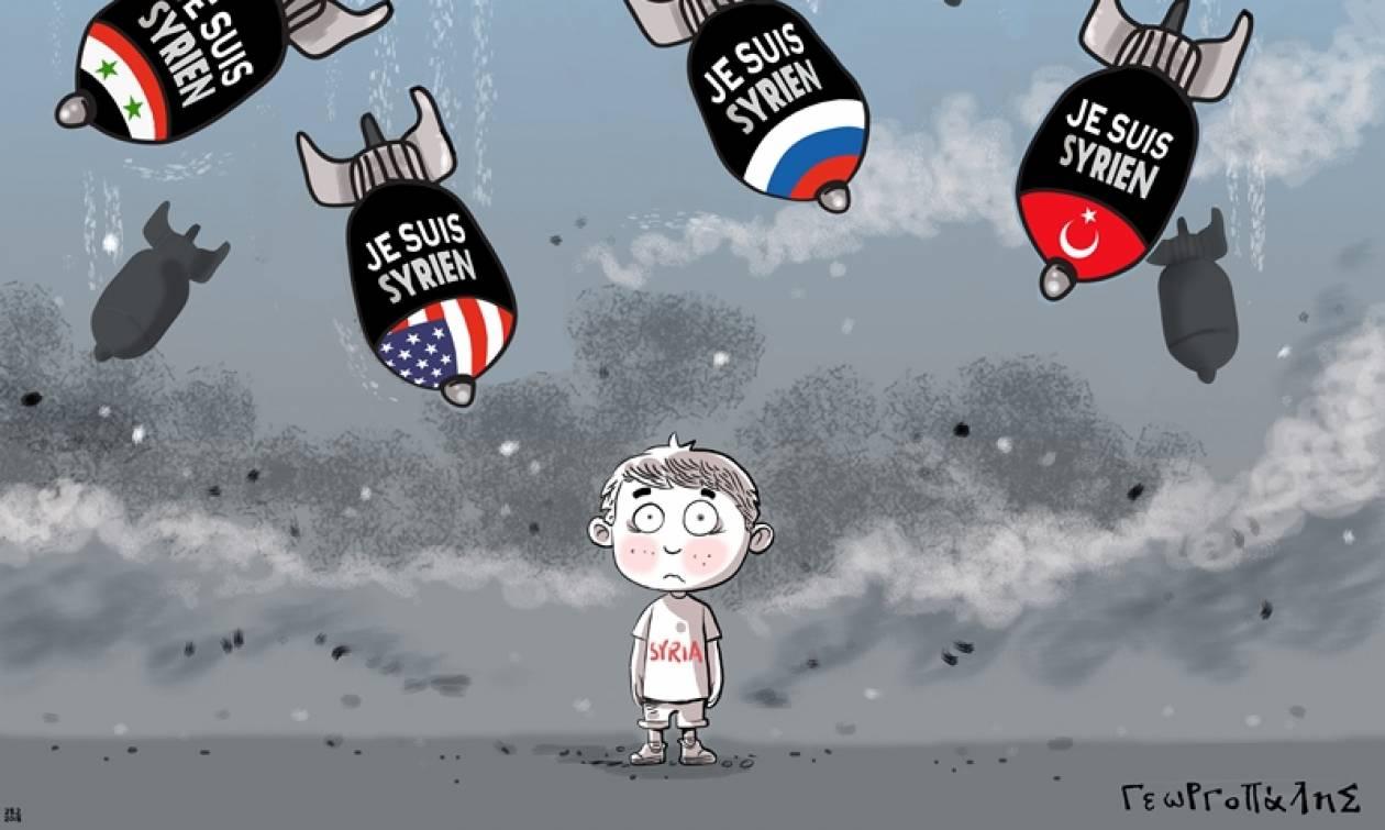 «Πόλεμος Α.Ε. - War S.A.»: Εικονογραφημένο μήνυμα στο Μετρό Συντάγματος (pics)