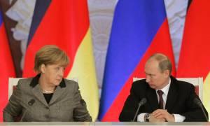 Έκτακτη τηλεφωνική επικοινωνία Πούτιν – Μέρκελ