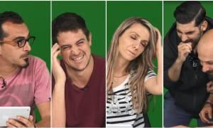 Eurovision 2018: Δείτε βίντεο με τις ξεκαρδιστικές αντιδράσεις τεσσάρων νέων μπροστά στην κάμερα!