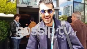Eurovision 2018: Ο make up artist της Φουρέιρα, Παντελής Τουτουντζής αποκλειστικά στο gossip-tv.gr