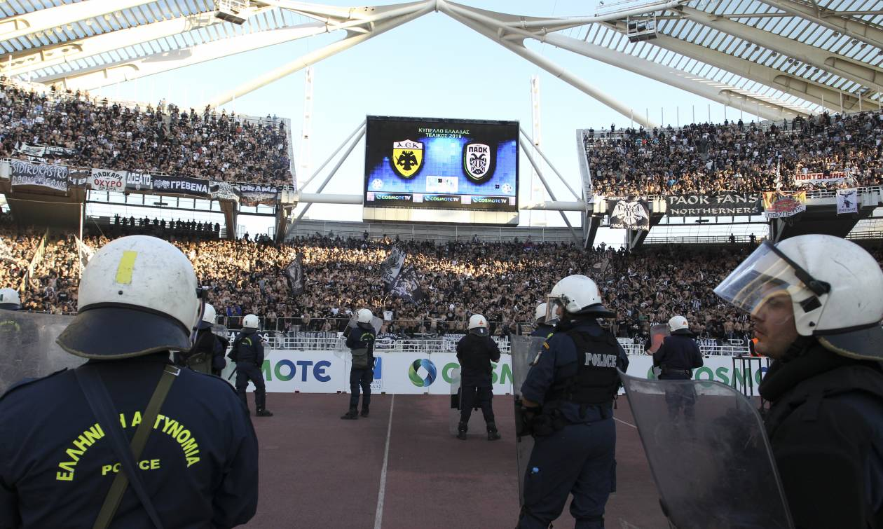 LIVE ο τελικός του Κυπέλλου Ελλάδος - Σε εξέλιξη η αναμέτρηση ΑΕΚ - ΠΑΟΚ