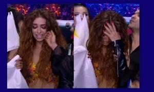 Eurovision 2018: Η αντίδραση της Ελένης Φουρέιρα
