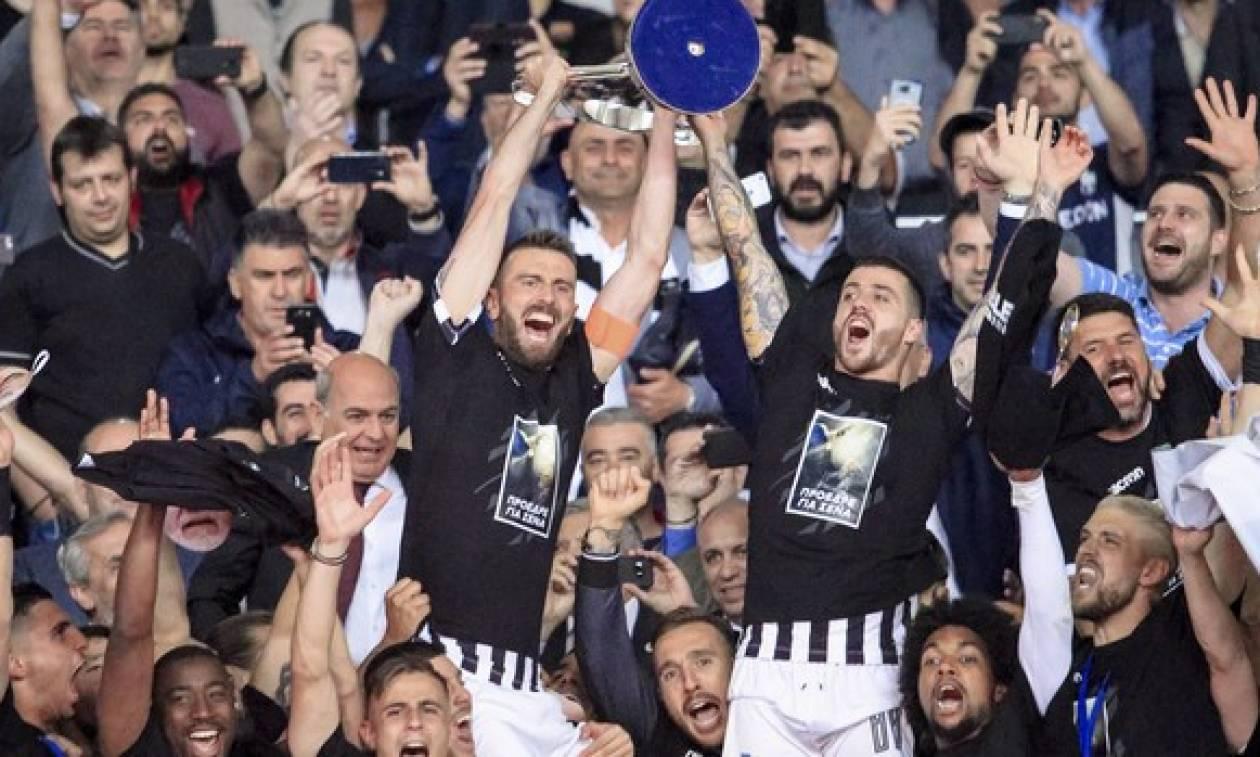 Τελικός Κυπέλλου: Πανάξιος Κυπελλούχος ο ΠΑΟΚ – Σήμερα η φιέστα στην Τούμπα