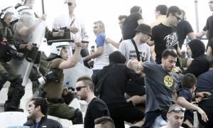 Επεισόδια στο «Ελ Πάσο», ξύλο μεταξύ οπαδών και αστυνομίας (photos)