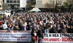 Στους δρόμους οι συνταξιούχοι - Την Τετάρτη διαδηλώνουν στο Συμβούλιο της Επικρατείας