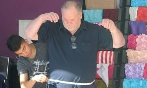 Χαμός με τον πατέρα της Μέγκαν Μαρκλ: Δεν θα πάει στο γάμο - Έστησε φωτογραφίες με τις προετοιμασίες