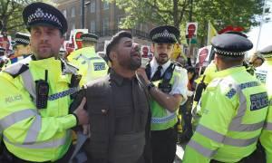 Επεισόδια στο Λονδίνο μεταξύ Τούρκων και Κούρδων διαδηλωτών