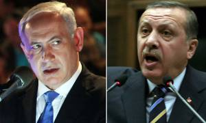 «Ιερός πόλεμος» Ερντογάν-Νετανιάχου: «Έχεις αίμα Παλαιστινίων στα χέρια σου! Διάβασε τις 10 εντολές»