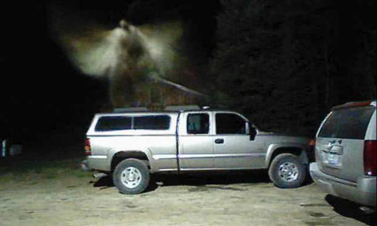 Άγγελος εμφανίζεται σε βίντεο από κάμερα ασφαλείας! (photo)