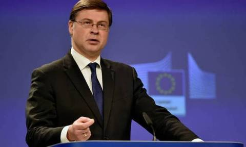 Agreement on Greece's debt by June, Dombrovskis says
