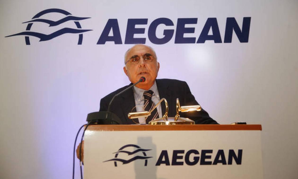 Θεόδωρος Βασιλάκης: Το Σάββατο η κηδεία του ιδρυτή και προέδρου της AEGEAN