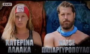 Survivor 2: Άγριο κράξιμο στο Twitter για Δαλάκα λόγω Νάσου! (pics+tweets)